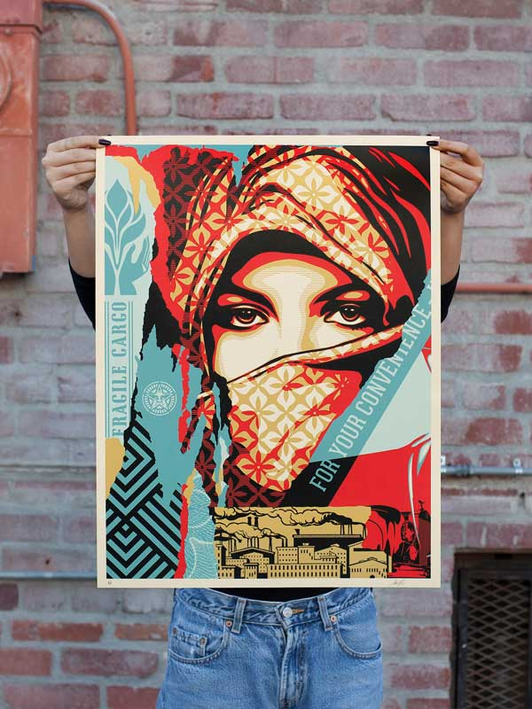 Shepard Fairey Obey | Golden Future for Some Diptych Print Set ...